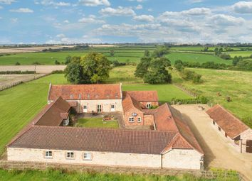 Thumbnail 6 bed barn conversion for sale in Stonesby Road, Saltby, Melton Mowbray