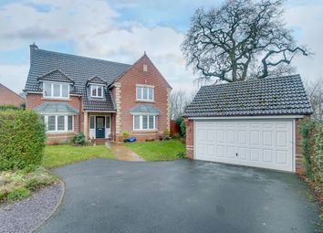 Thumbnail 5 bed detached house for sale in Defford Close, Webheath, Redditch