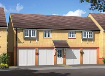 "Thumbnail 2 bedroom flat for sale in ""Drayton"" at Michaels Drive, Corby"