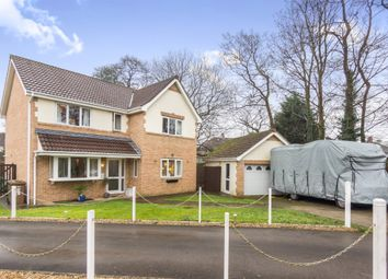 Thumbnail 4 bed detached house for sale in Morgan Street, Caerphilly