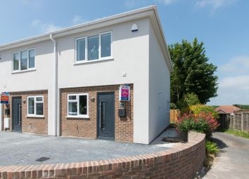 Thumbnail 2 bedroom end terrace house for sale in The Droveway, St. Margarets Bay, Dover