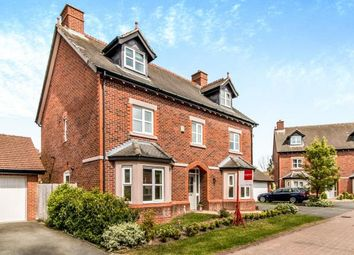 Thumbnail 5 bedroom detached house for sale in Wellcroft Gardens, Lymm, Warrington, Cheshire