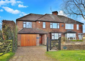 Thumbnail 3 bed semi-detached house for sale in Stocking Lane, Naphill, High Wycombe