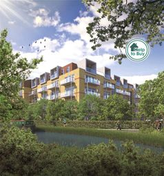 Thumbnail 1 bed flat for sale in Aqua House, Packet Boat Lane