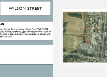 Thumbnail Land for sale in Wilson Street, Featherstone, Pontefract