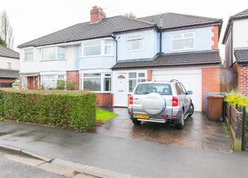 Thumbnail 4 bed semi-detached house for sale in 6 Briarfield Road, Cheadle Hulme, Cheadle, Cheshire