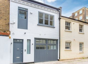 Thumbnail 4 bed mews house for sale in Lancaster Mews, London