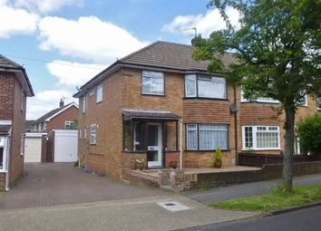 Thumbnail 4 bed semi-detached house to rent in Morley Road, Basingstoke