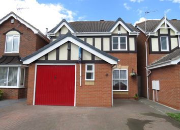 Thumbnail 3 bed detached house for sale in Sevenlands Drive, Boulton Moor, Derby