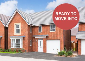 "Thumbnail 4 bed detached house for sale in ""Halstead"" at Weddington Road, Nuneaton"