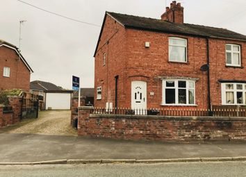 Thumbnail 2 bed semi-detached house for sale in King Street, Middlewich