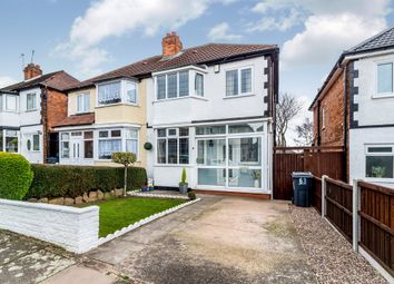 Thumbnail 3 bed semi-detached house for sale in Anstey Road, Birmingham