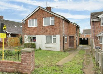 Thumbnail 2 bedroom semi-detached house for sale in Barcelona Close, Andover