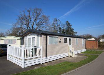 Thumbnail 3 bedroom mobile/park home for sale in St. Leonards, Ringwood