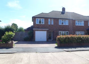 Thumbnail 3 bed semi-detached house for sale in Broadfields, East Molesey