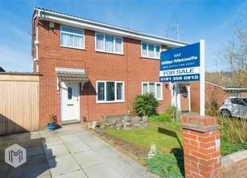 Thumbnail 3 bedroom semi-detached house for sale in Hill Street, Radcliffe, Manchester, Lancashire