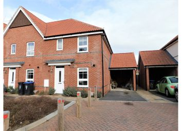 Thumbnail 3 bed end terrace house for sale in Puttick Drive, Worthing