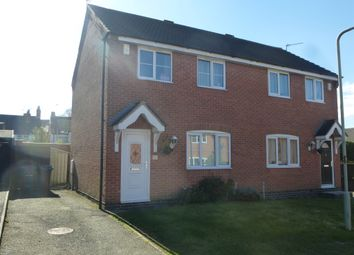 Thumbnail 2 bed semi-detached house for sale in Shoesmith Close, Barwell, Leicester