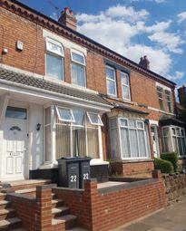 Thumbnail 4 bed terraced house to rent in Kathleen Road, Yardley, Birmingham