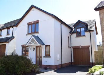 Thumbnail 4 bed detached house to rent in Jubilee Close, Torrington