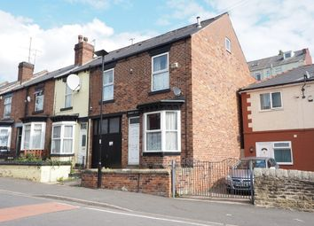 Thumbnail 4 bedroom end terrace house for sale in Bolsover Road, Sheffield
