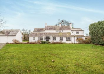 Thumbnail 4 bed detached house for sale in Station Lane, Great Barrow, Chester
