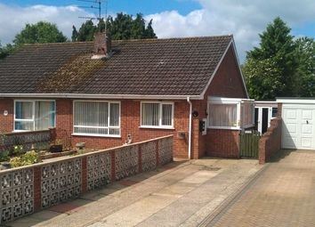 Thumbnail 2 bedroom semi-detached bungalow for sale in North Park, Fakenham