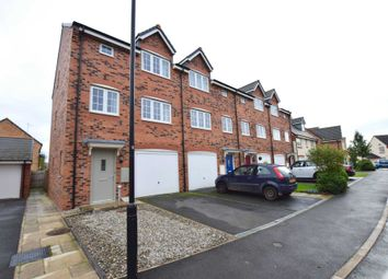 Thumbnail 4 bed town house for sale in Wesham Park Drive, Wesham, Preston