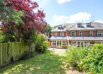 Thumbnail 4 bed terraced house for sale in Brooklands Road, Weybridge, Surrey