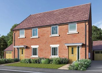 "Thumbnail 3 bed semi-detached house for sale in ""The Winkburn"" at Bede Ling, West Bridgford, Nottingham"