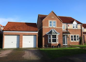 Thumbnail 4 bed detached house for sale in Home Farm Close, Laughterton, Lincoln