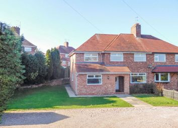 Thumbnail 4 bed semi-detached house for sale in Newport Road, Eccleshall, Stafford