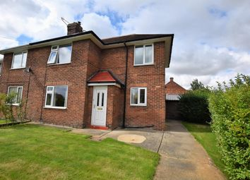 Thumbnail 2 bed semi-detached house for sale in The Grove, Norton, Malton