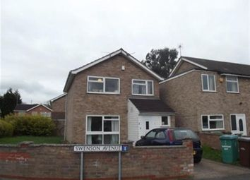 Thumbnail 4 bed detached house to rent in Swenson Avenue, Lenton, Nottingham