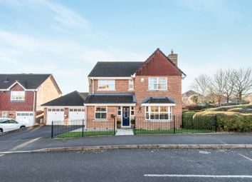 Thumbnail 4 bed detached house for sale in Andeferas Road, Saxon Fields, Andover