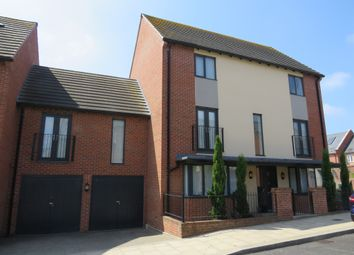 Thumbnail 4 bed semi-detached house for sale in Barring Street, Upton, Northampton
