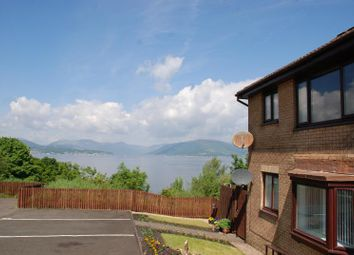 Thumbnail 1 bed flat to rent in Dunrobin Drive, Gourock