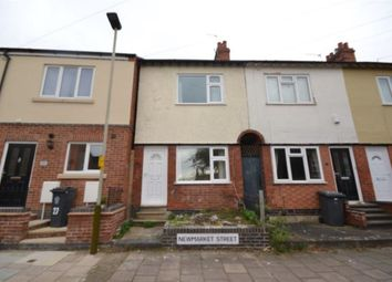 Thumbnail 2 bed terraced house to rent in Newmarket Street, Knighton, Leicester