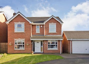Thumbnail 4 bed detached house for sale in Prospect Manor Court, Hednesford, Cannock