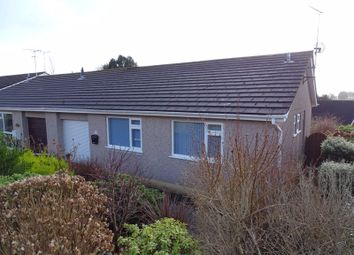Thumbnail 3 bed semi-detached bungalow for sale in Woodgate Road, Liskeard