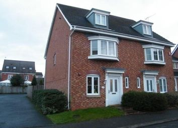 Thumbnail 3 bed town house to rent in Wycherley Way, Cradley Heath