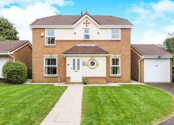 Thumbnail 3 bed detached house for sale in The Pastures, Grimsargh, Preston