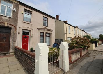 Thumbnail 3 bed end terrace house for sale in Cunard Road, Liverpool