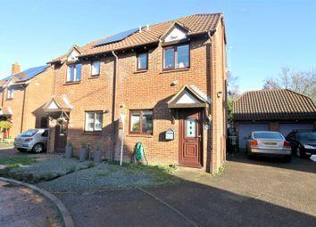 2 bed semi-detached house to rent in Carteret Close, Willen, Milton Keynes MK15