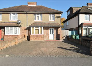 Thumbnail 3 bed semi-detached house for sale in Arnold Road, Staines-Upon-Thames, Surrey
