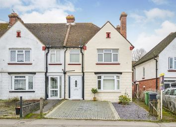 Thumbnail 3 bed terraced house to rent in Upper Road, Maidstone