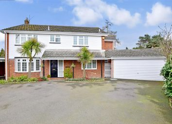 Thumbnail 5 bed detached house for sale in Carisbrooke Drive, Maidstone, Kent