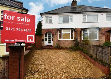 3 bed semi-detached house for sale in Velsheda Road, Shirley, Solihull B90