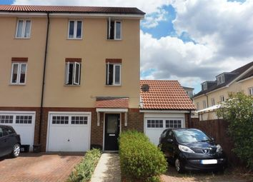 Thumbnail 4 bed end terrace house for sale in Cedrus Close, Broxbourne