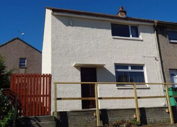 Thumbnail 2 bed end terrace house to rent in Brodick Road, Kirkcaldy, Fife